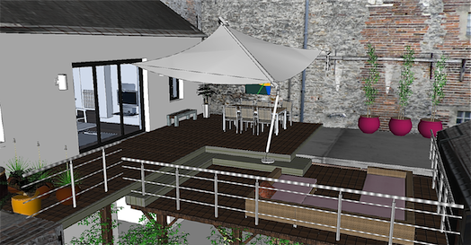 Le blog projet terrasse out door in door for Terrasse appartement amenagement