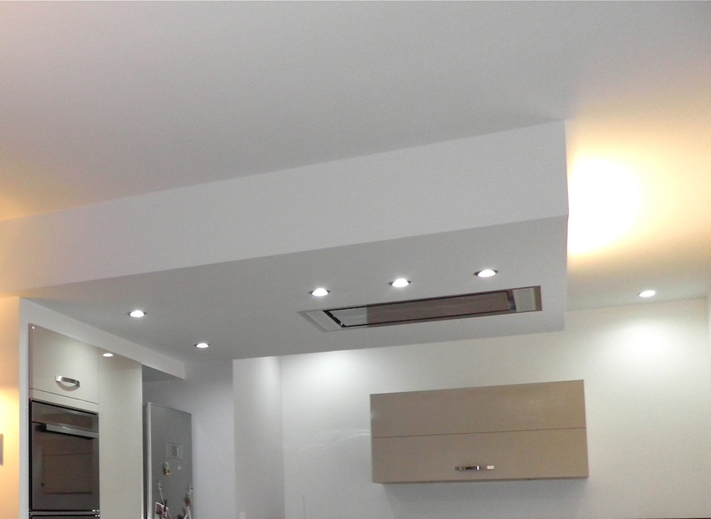 Le blog for Plafond a caisson suspendu