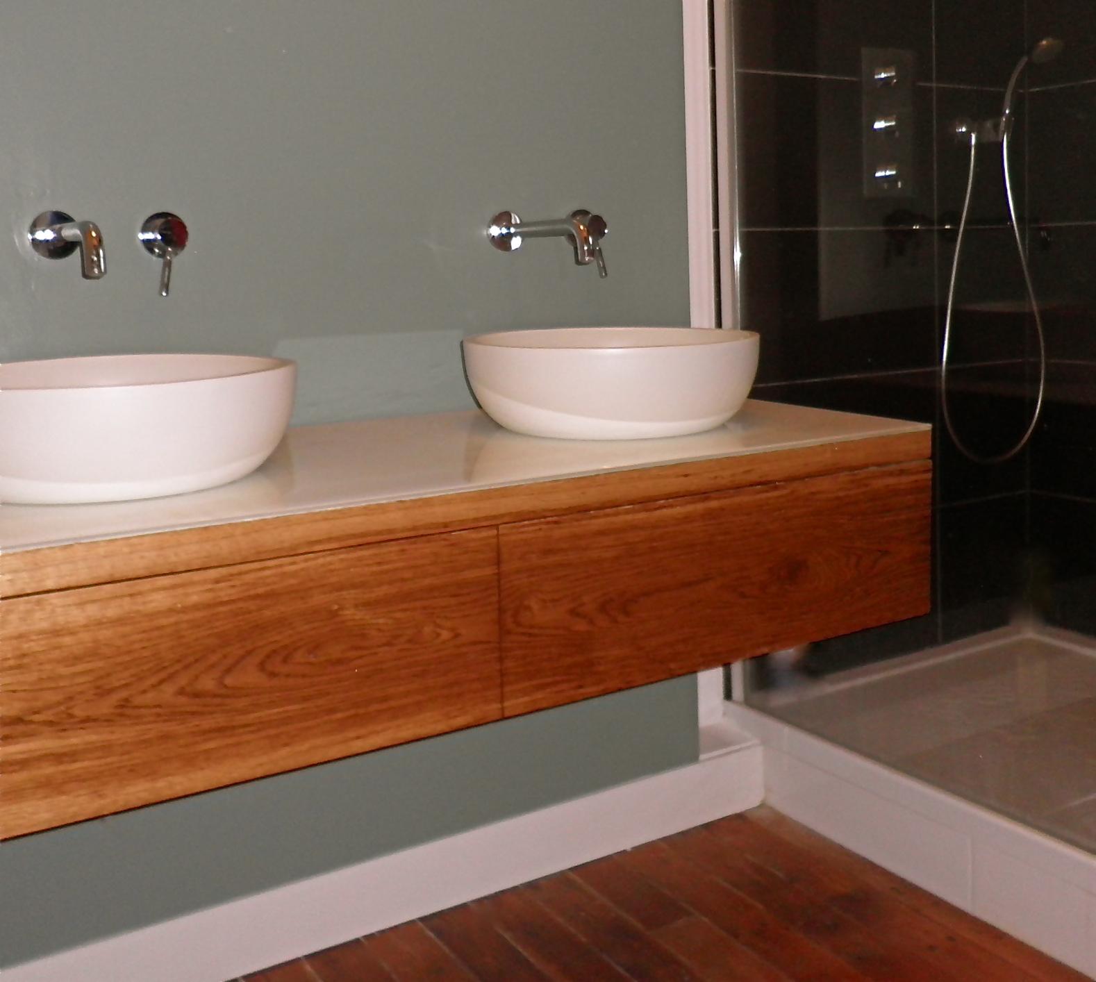 Le blog meuble de salle de bain - Creer un meuble de salle de bain ...